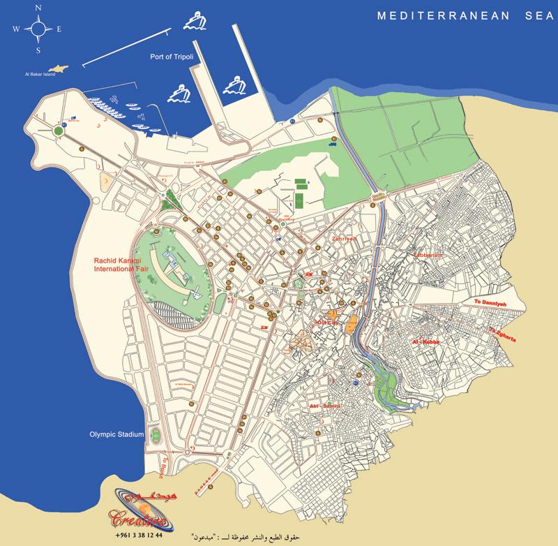Tripoli Map | Maps